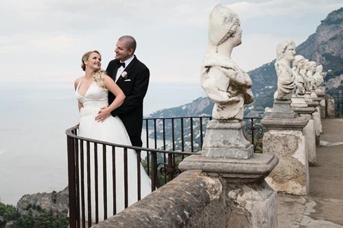 Cimnrone - Ravello wedding photos